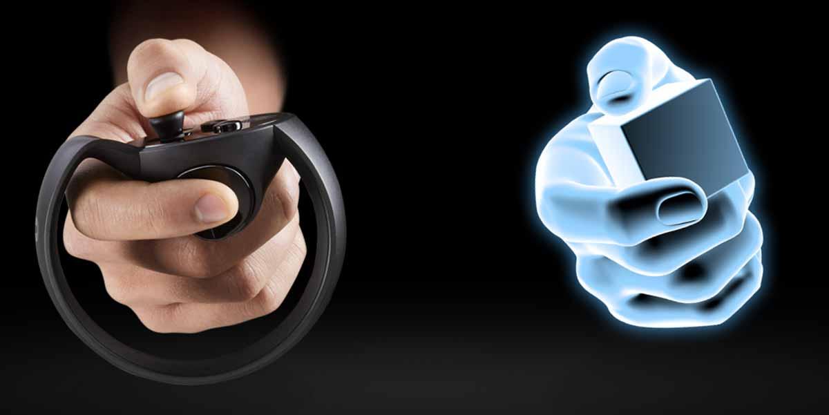 Auf das zweite Halbjahr 2016 verschoben: Die Touch-Controller für Oculus Rift.