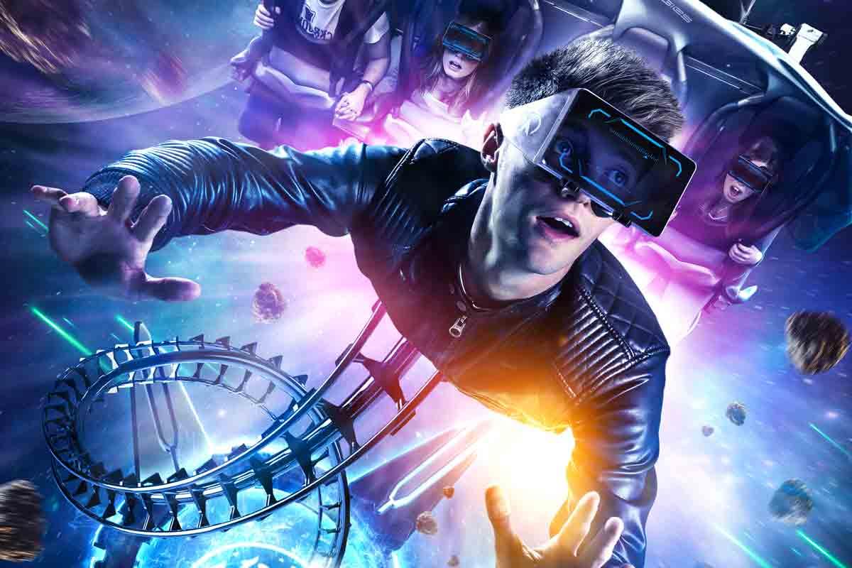 Neue Virtual-Reality-Achterbahn in UK: Galactica
