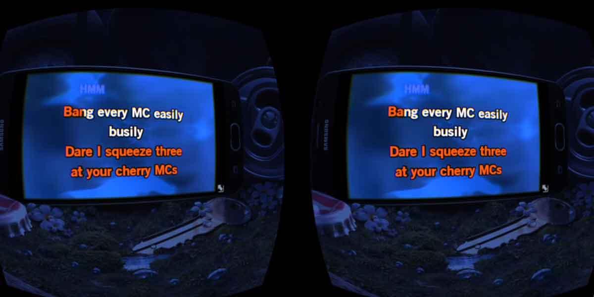 Es ist passiert: Erstes Karaoke-Event in Virtual Reality