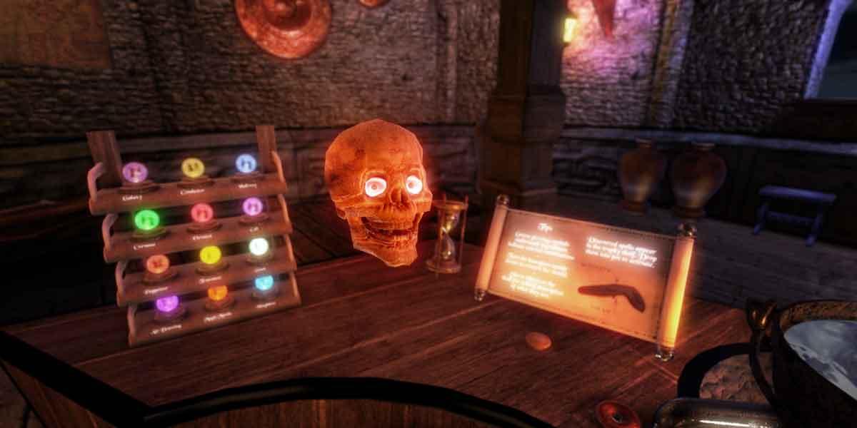 HTC Vive: Trailer für Virtual-Reality-Spiel Waltz of the Wizard