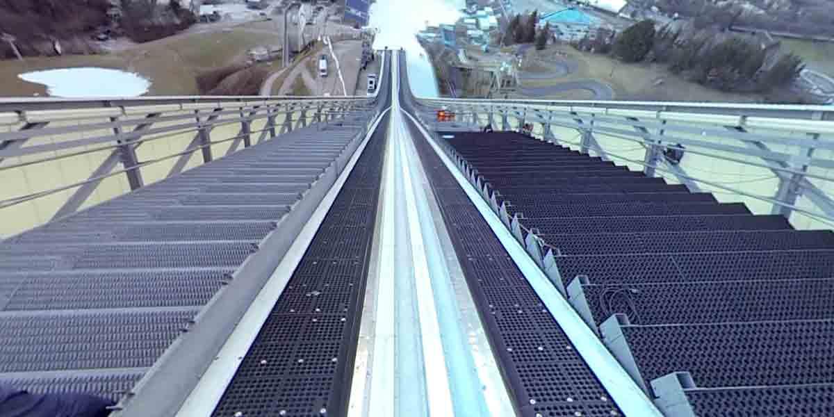 ZDF produziert 360-Video der Olympiaschanze
