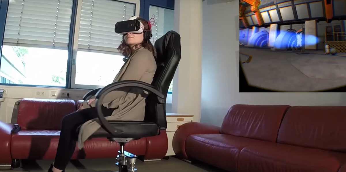 SwiVRChair: Drehstuhl für Virtual Reality