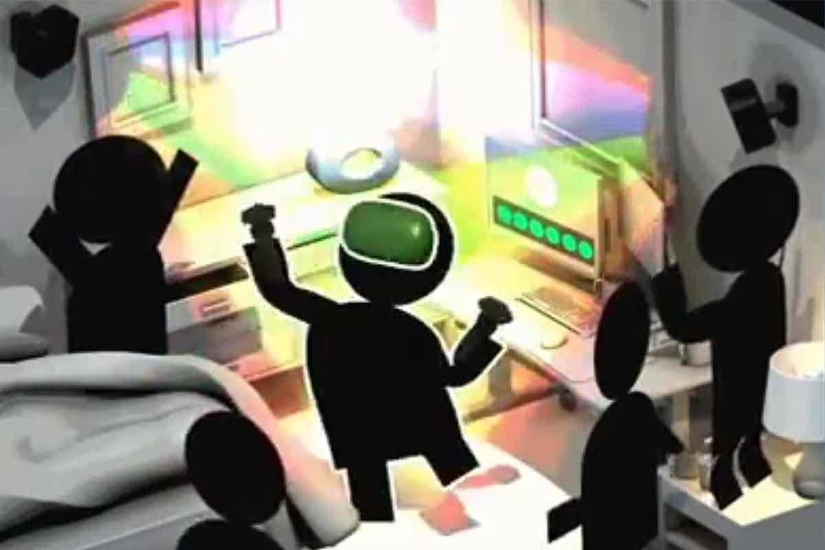 Herzallerliebst animiert zeigt Valve via Steam, wie man die VR-Brille HTC Vive korrekt kalibriert.