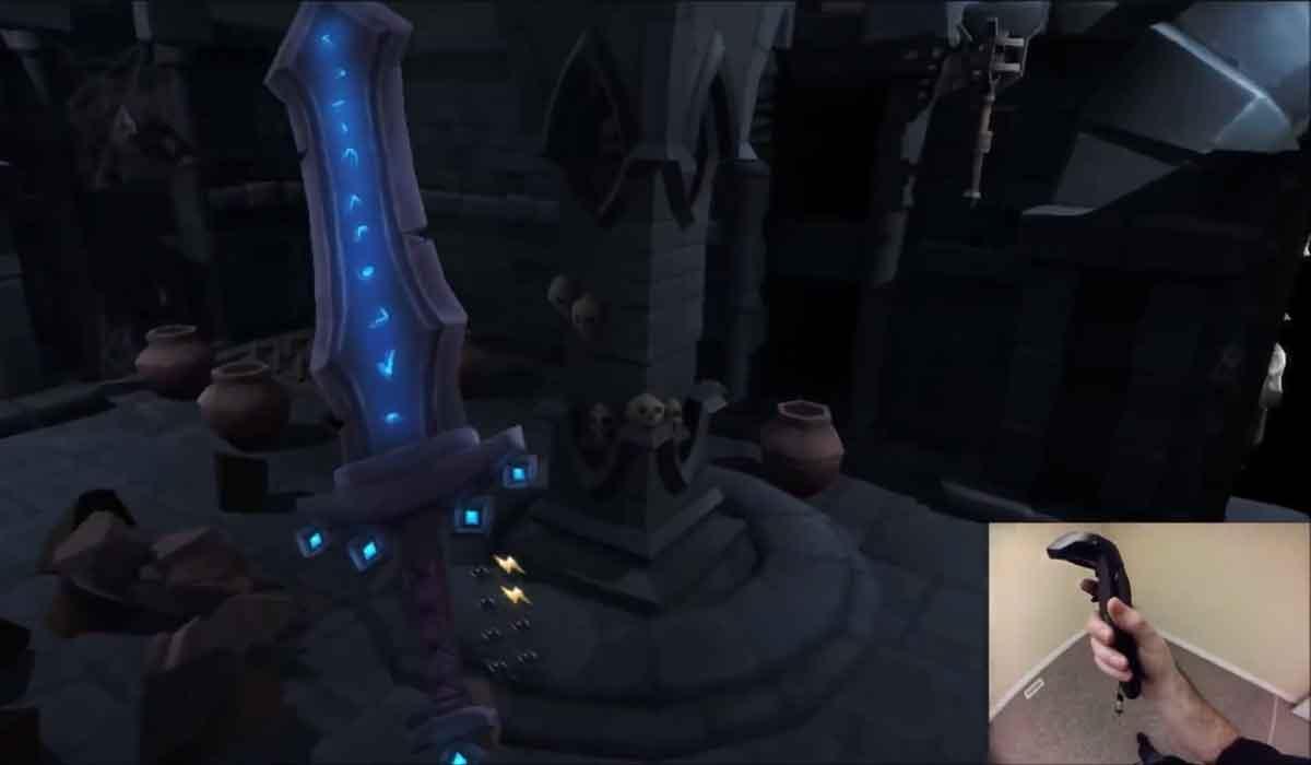 HTC Vive: Zelda-ähnliches Spiel macht die Wohnung zum Dungeon