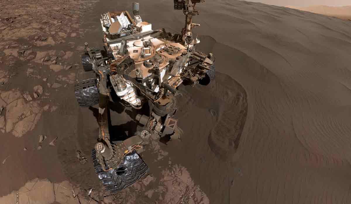 Die NASA springt frühzeitig auf den VR-Zug auf. Auf Facebook gibt es ein 360-Foto vom Mars, eine ausgewachsene VR-Erfahrung folgt später.
