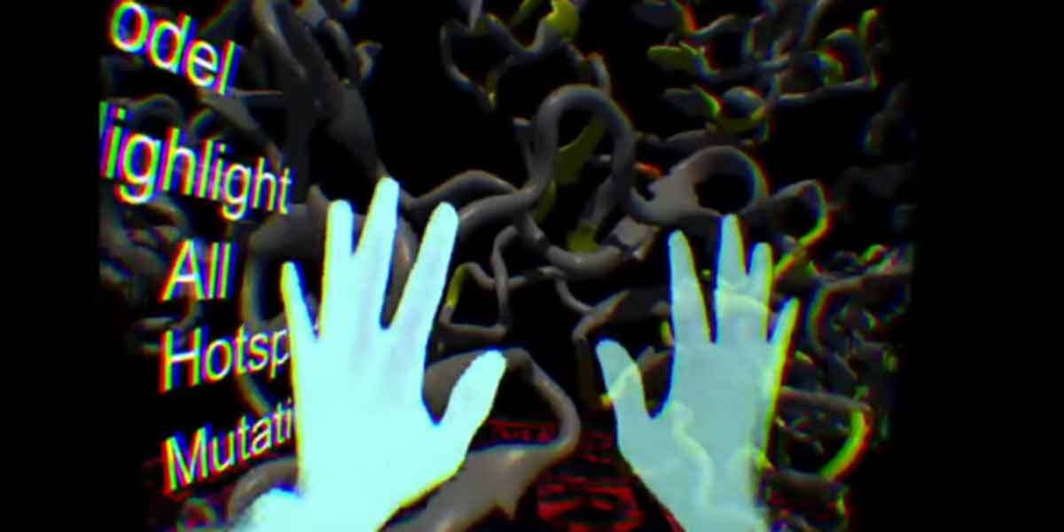 Ein neues Oculus RIft Programm hilft Ärzten bei der Jagd nach Krebs.