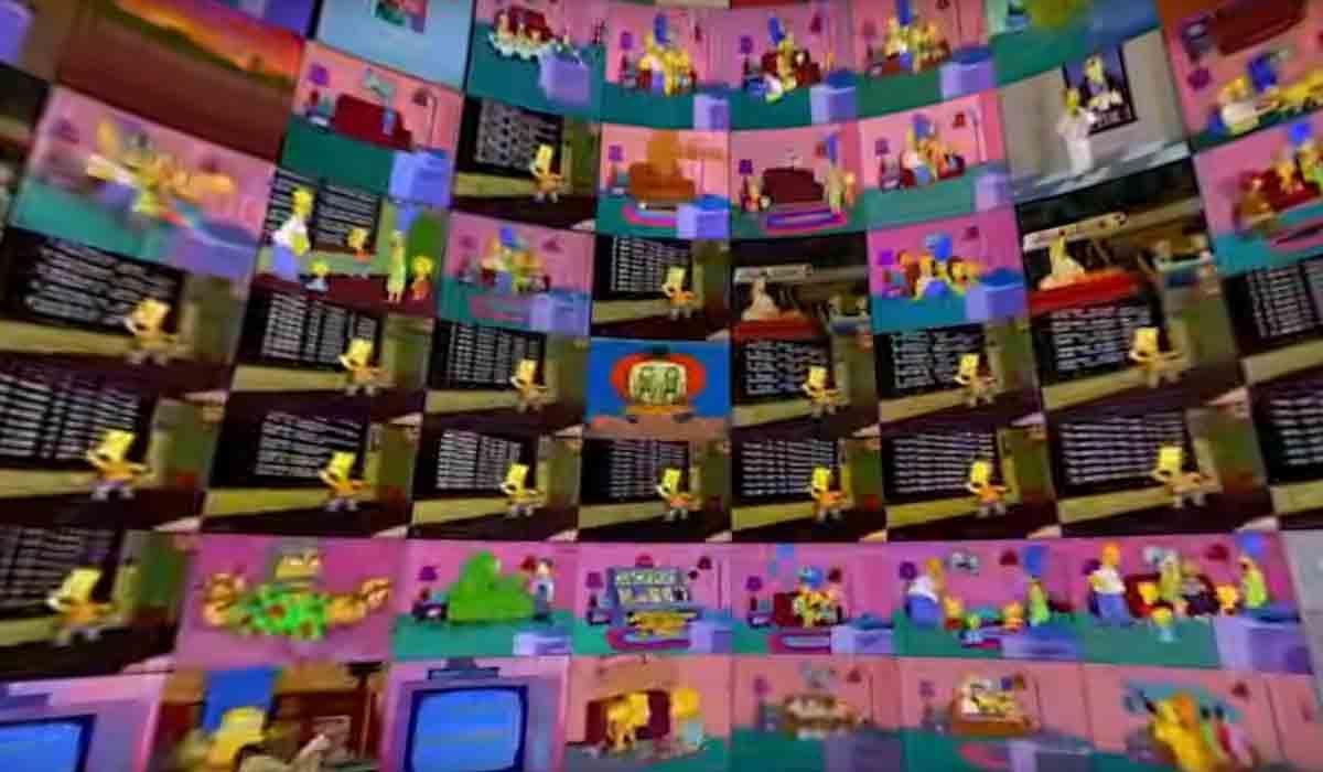 360-Video: 500 Folgen Simpsons auf einmal anschauen