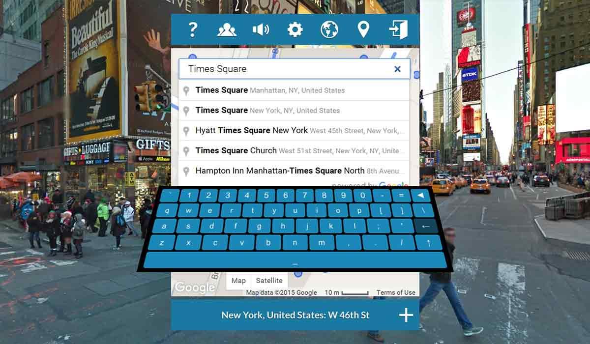 Die inoffizielle Version von Googles Streetview für Virtual Reality heißt Viso Places und unterstützt Samsung Gear VR und Oculus Rift.