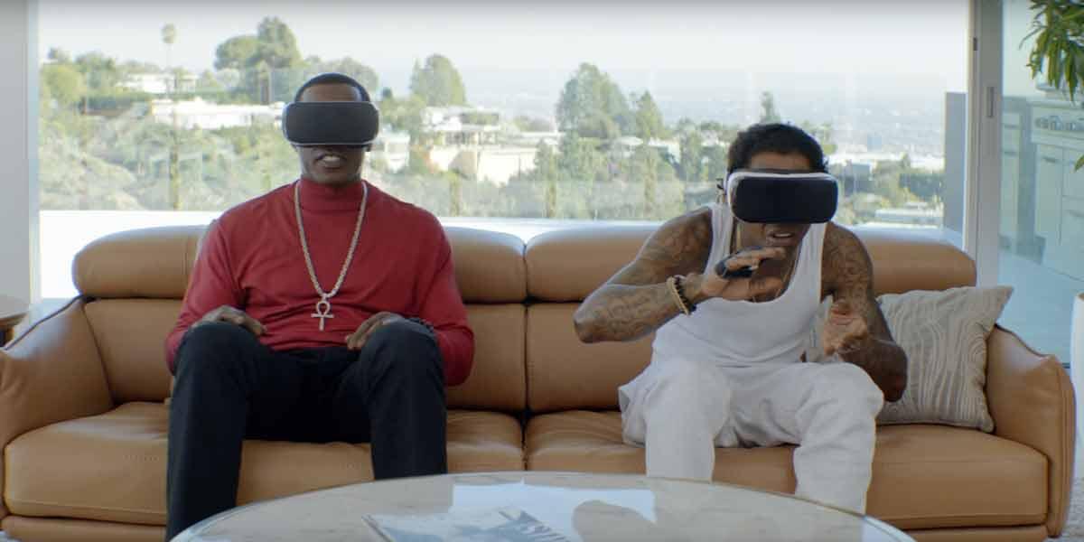 Samsung Gear VR: Im Kanu mit Wesley Snipes