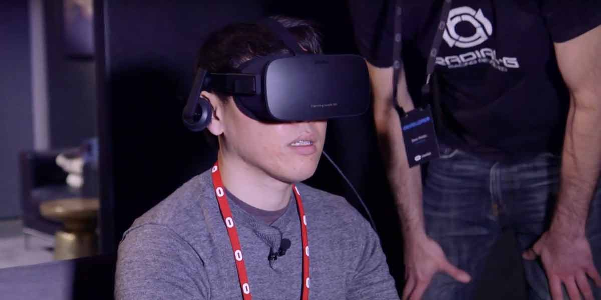 Oculus Rift: Launch-Spiele im Hands-on, Room-Scale-VR für Rift