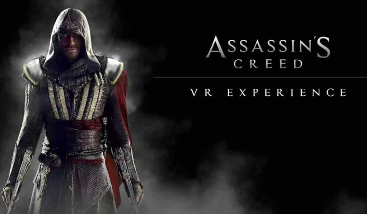 """Assassin's Creed goes Virtual Realiy - aber nicht als Spiel, sondern als ominöse """"VR-Erfahrung""""."""