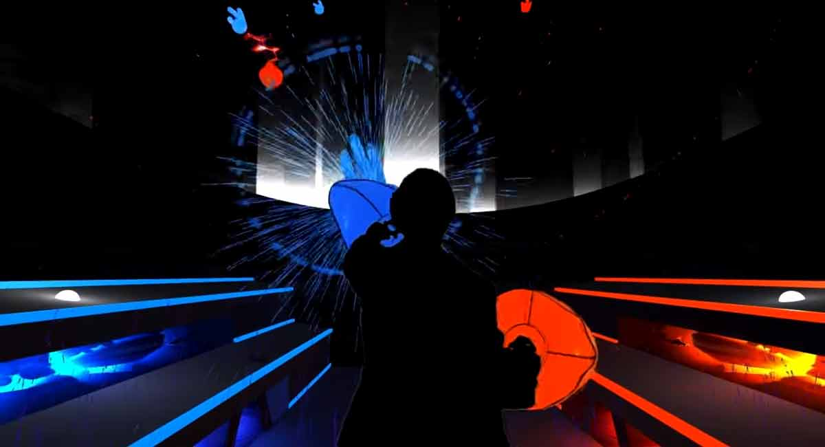 Audiosurf: Virtual-Reality-Version für HTC Vive