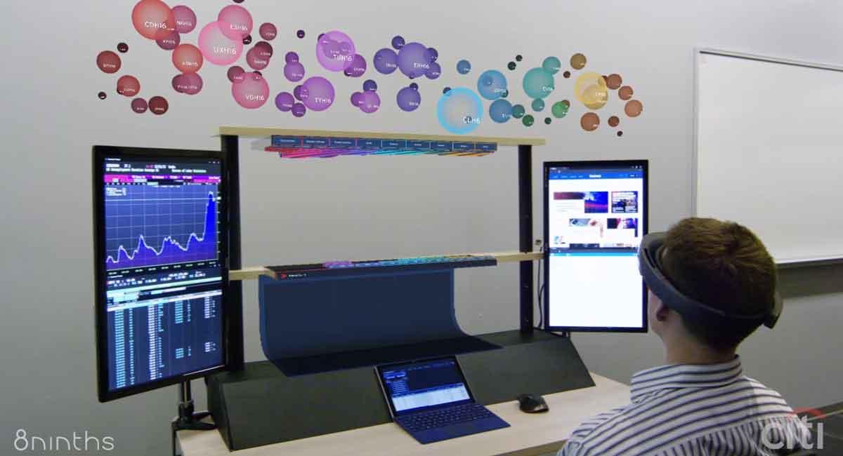 Hololens: Augmented-Reality-Schreibtische im Büro der Zukunft
