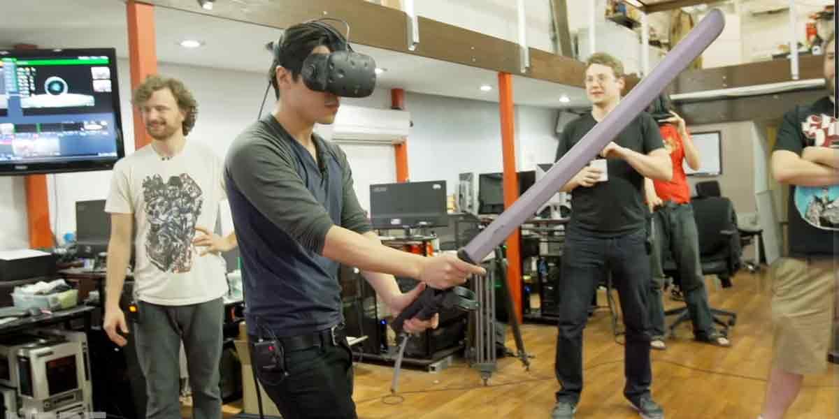"Obst-Gemetzel in Virtual Reality: ""Ninja Trainer"" für HTC Vive"