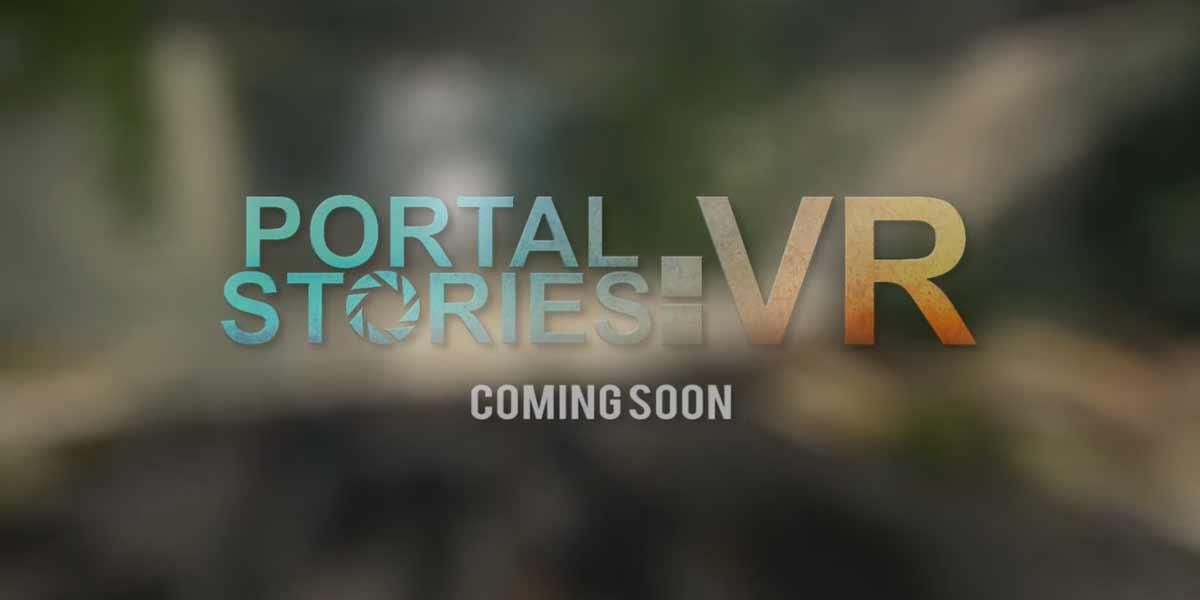 """HTC Vive: """"Portal Stories: VR"""" erscheint kostenlos zum Launch"""
