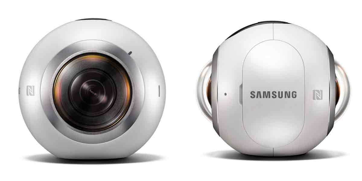 """Samsungs Virtual-Reality-Kamera """"Gear 360"""" macht es 360-Neulingen möglich, ohne großen Aufwand brauchbare Rundumaufnahmen zu schießen."""