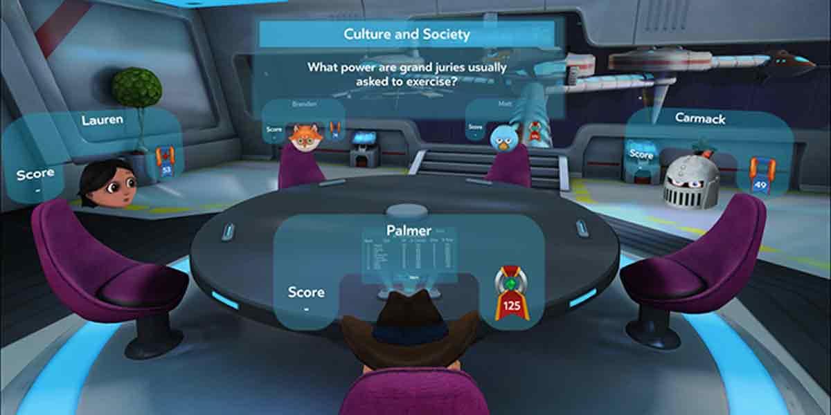 Ein neues Social-Quiz für Gear VR kommt kostenlos direkt von Oculus VR.