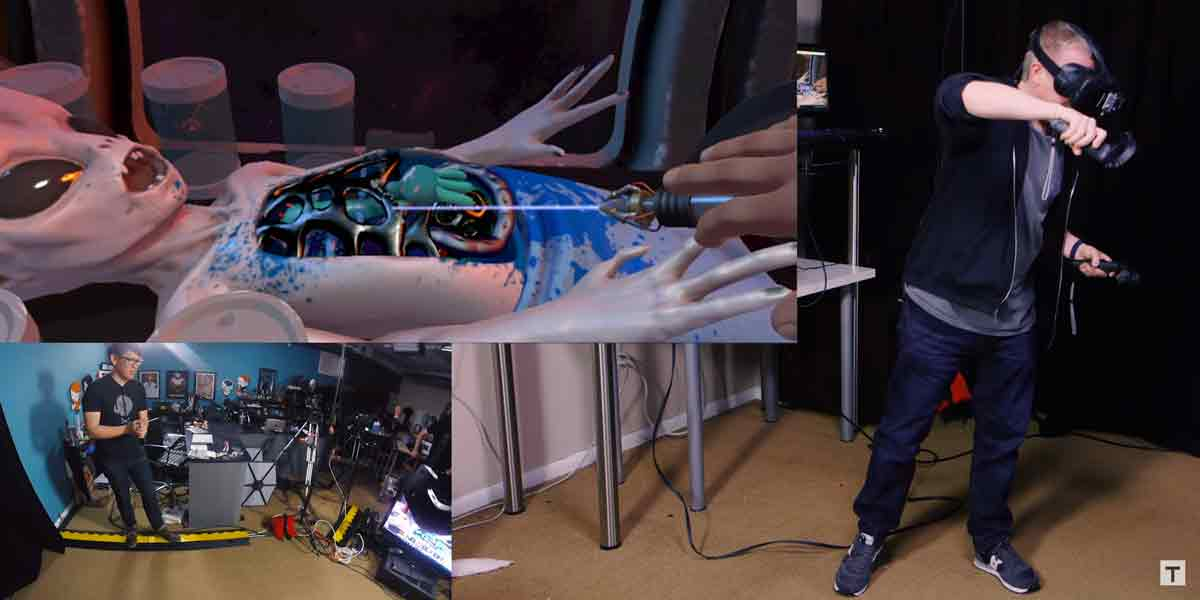 HTC Vive: Sechs VR-Demos im Tested Hands-on