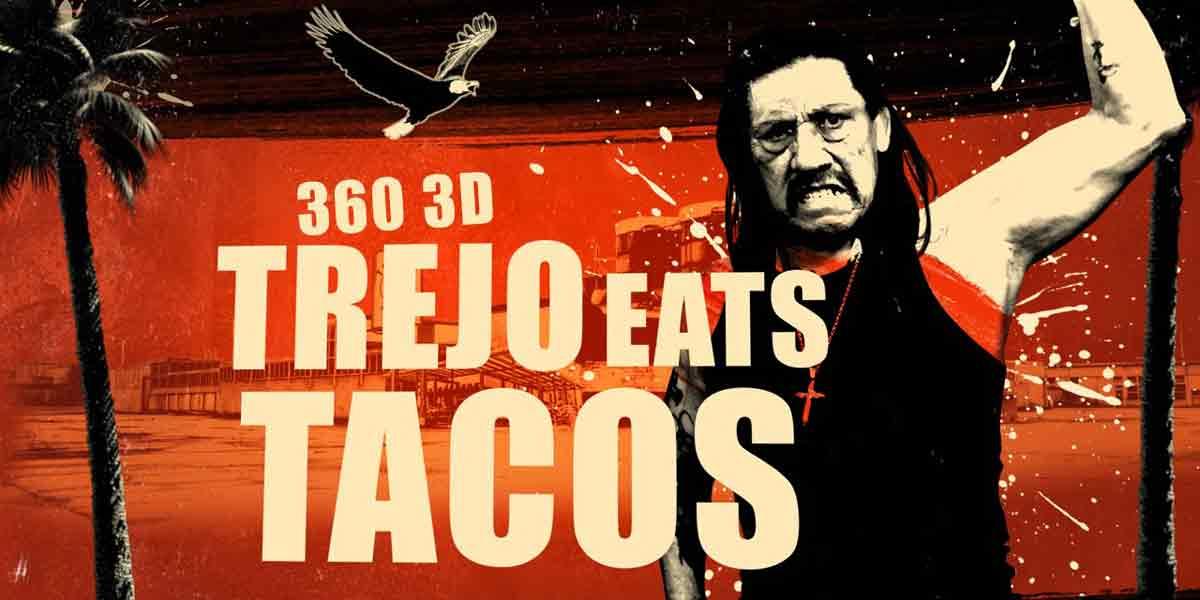 Iss virtuelle Tacos mit Danny Trejo in 3D, 5K und 360-Grad