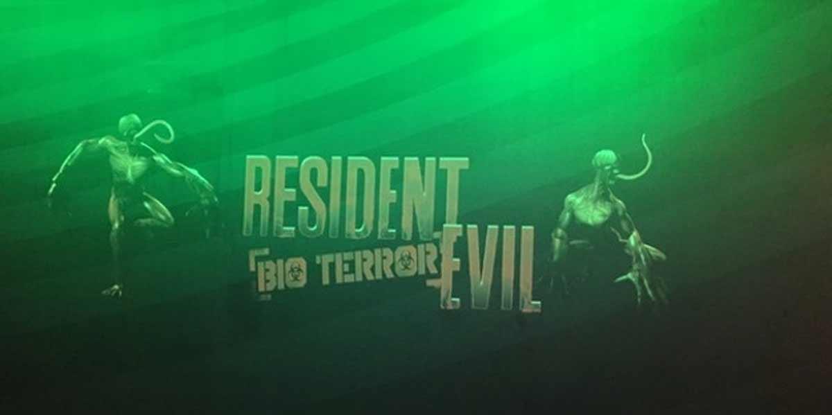 Resident Evil trifft auf Virtual Reality: In Dubai präsentiert Capcom den ersten VR-Ableger der Serie in einer High-Tech Spielehalle.