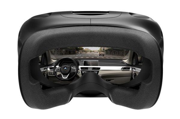 So ähnlich sieht es aus, wenn BMW ein Cockpit in VR simuliert. BILD: BMW