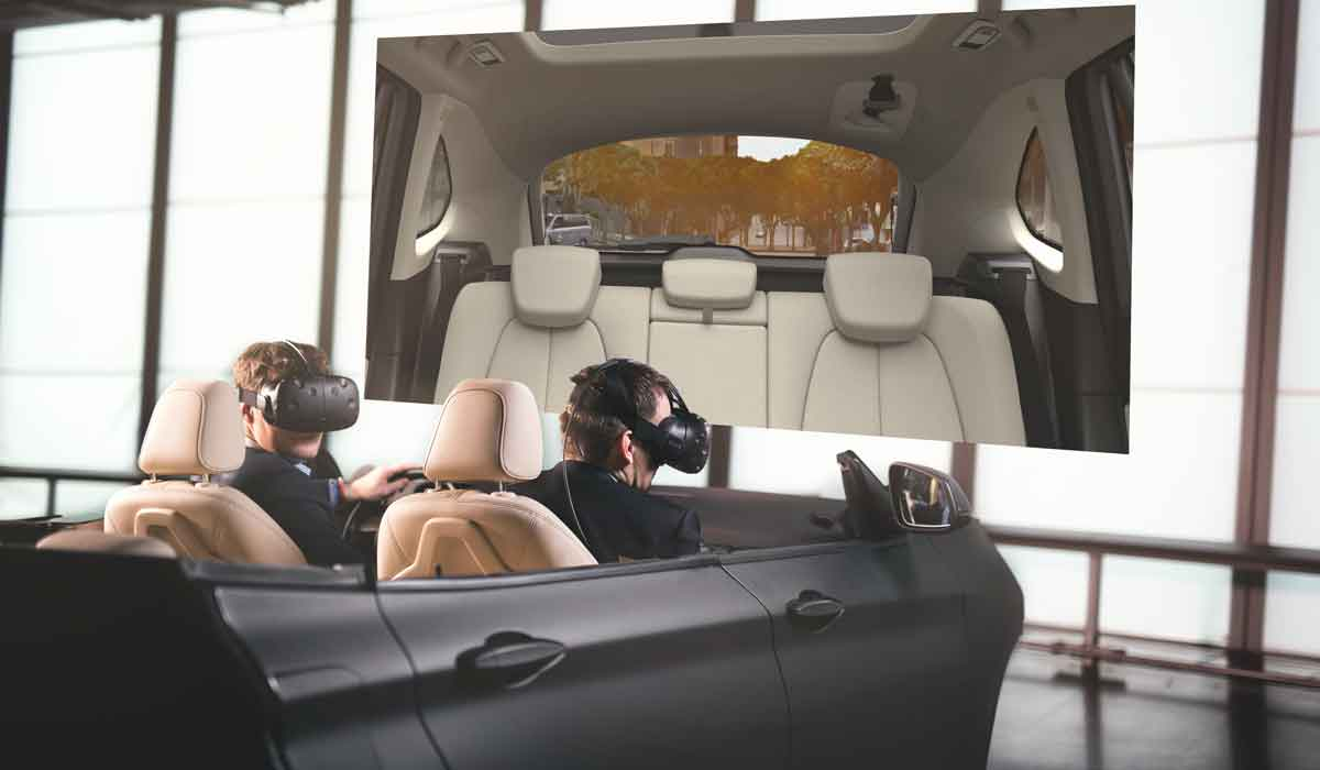 Gaming-Rechner und HTC Vive statt teurer VR-Simulation. So können BMW-Ingenieure aus aller Welt sogar aus dem Home Office in Virtual Reality arbeiten.