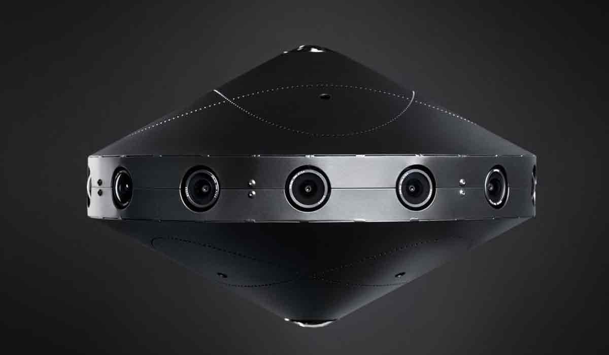 "Facebook kündigt Virtual-Reality-Kamera ""Surround 360"" an"