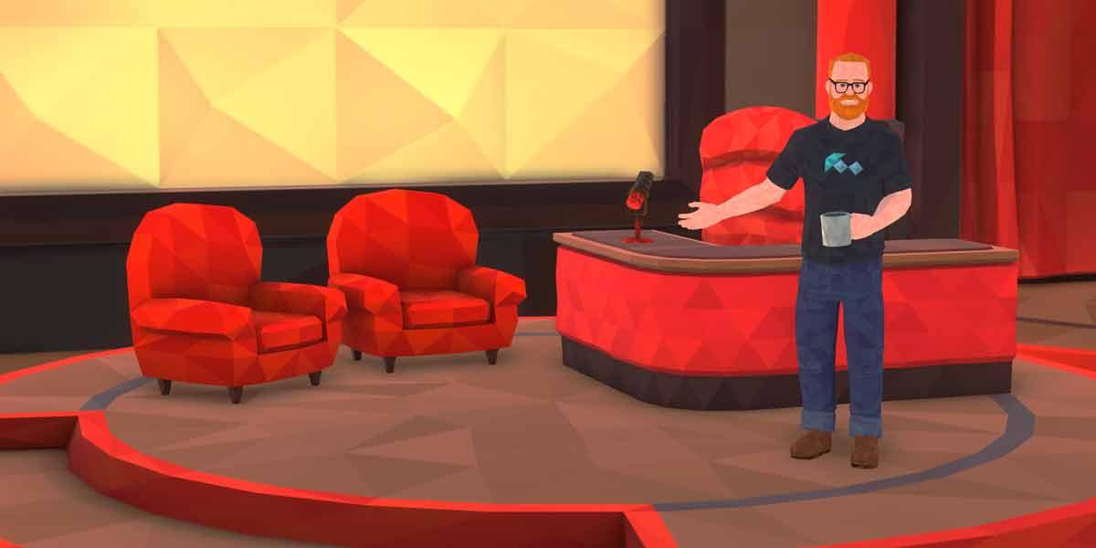 Die erste VR-Talkshow deutet das große Potenzial des neuen Mediums an - auch wenn es noch wenige Anwendungsszenarien für das Format gibt.