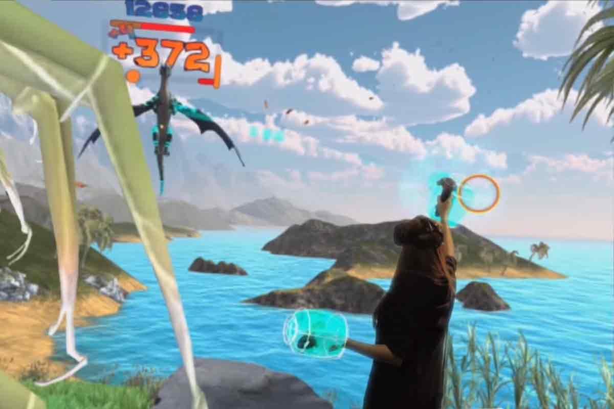 """Mixed-Reality-Trailer zu """"Holodance"""" für HTC Vive"""