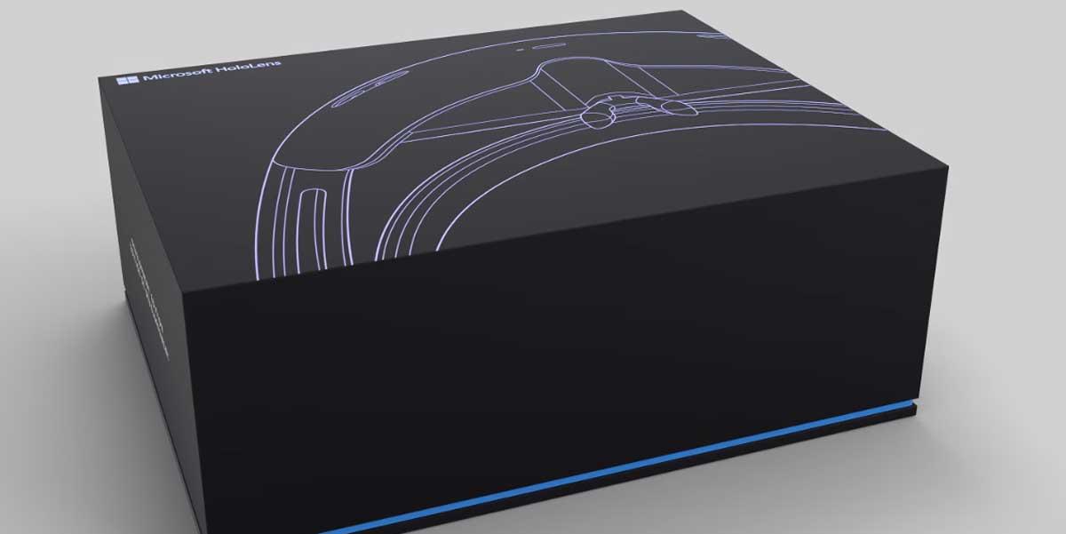 Hololens Unboxing: Microsoft packt die AR-Brille aus