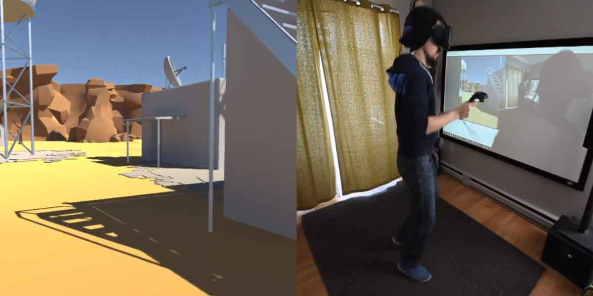 Neue Locomotion-Demo für VR resultiert in maximaler Heiterkeit