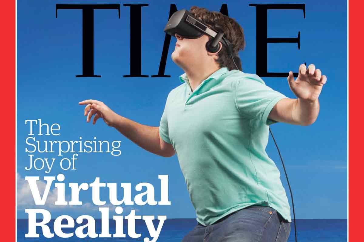 Ein Ritterschlag für Oculus-Rift-Erfinder Palmer Luckey: Als Pionier schafft er es in die Time 100 der weltweit einflussreichsten Menschen.