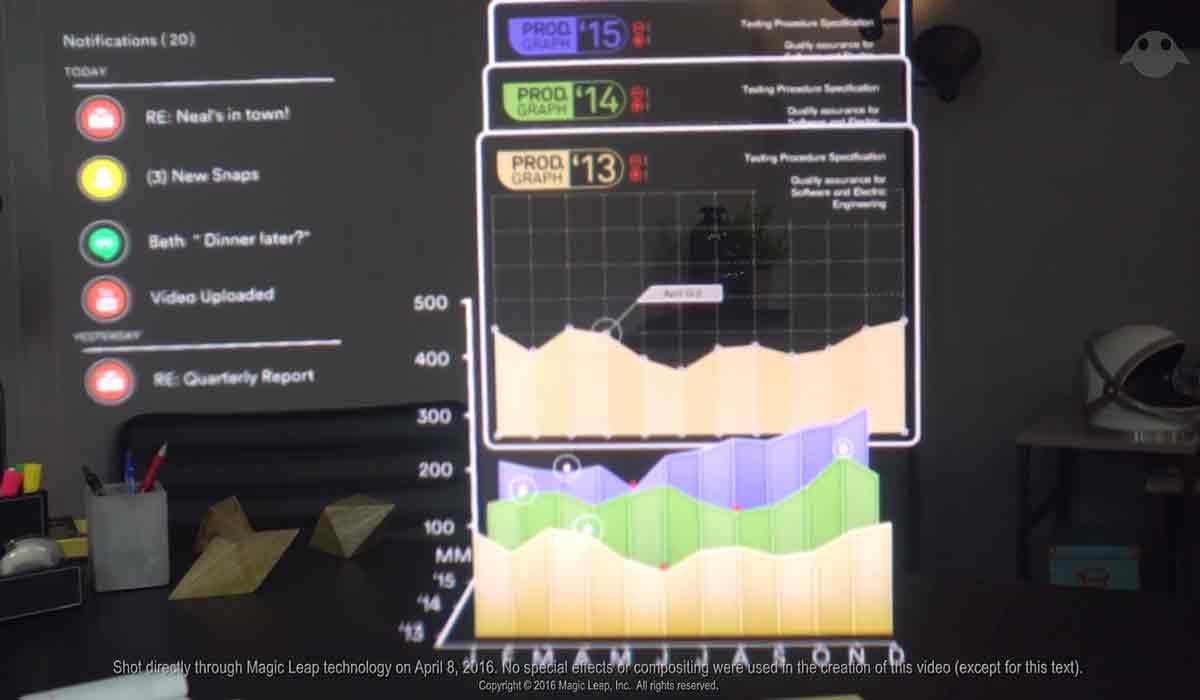 Magic Leap zeigt eine neue Augmented-Reality-Demo, das Potenzial scheint riesig. Aber noch gibt es nicht einmal eine Entwicklerversion.