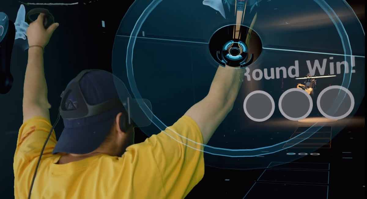 """""""Disc Wars"""" wie aus Tron: Project Arena ist Virtual-Reality-Sport"""