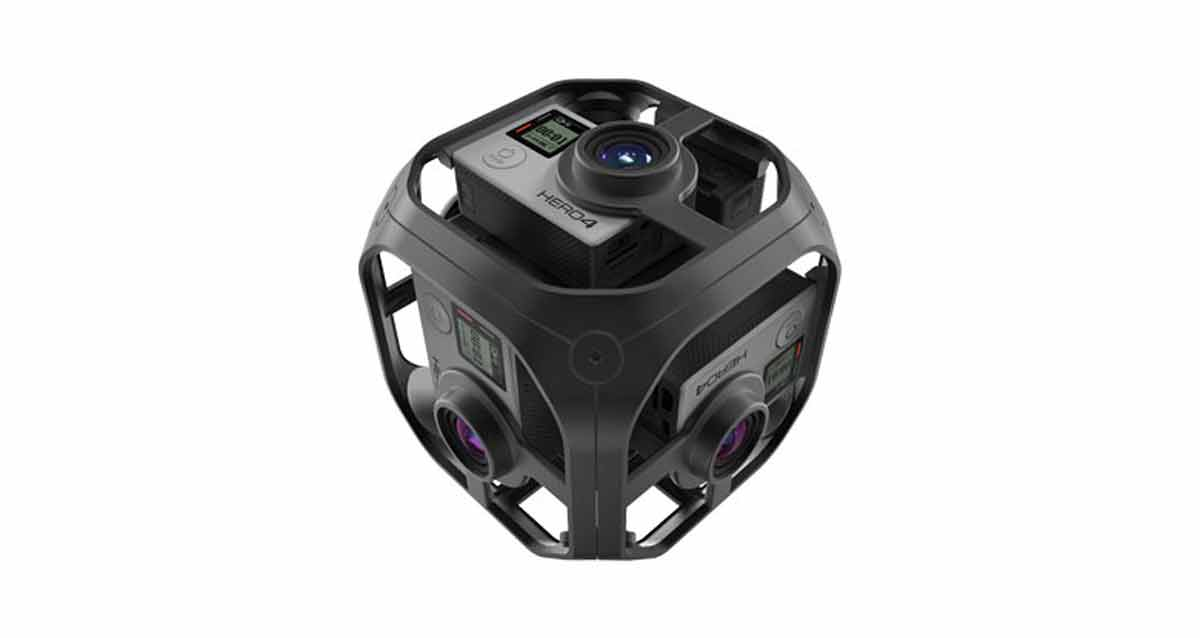 So schaut sie aus, die neuste Plastikhalterung für GoPro-Kameras. Bild: GoPro