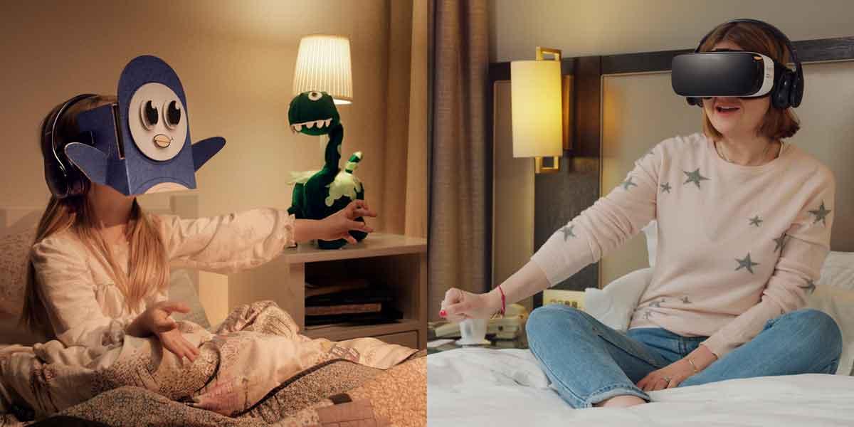 Gute-Nacht-Geschichte in Virtual Reality mit Gear VR