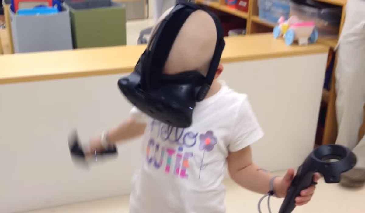 Wie Virtual Reality den Alltag im Kinderkrankenhaus erleichtert