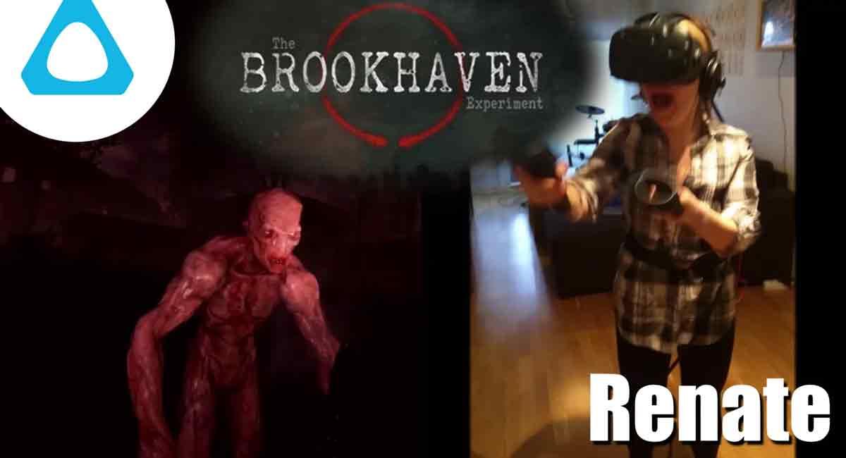 Eine Horror-Erfahrung für HTC Vive macht Renate Angst. Das Video zeigt eindrucksvoll, wie intensiv Virtual Reality wirken kann.