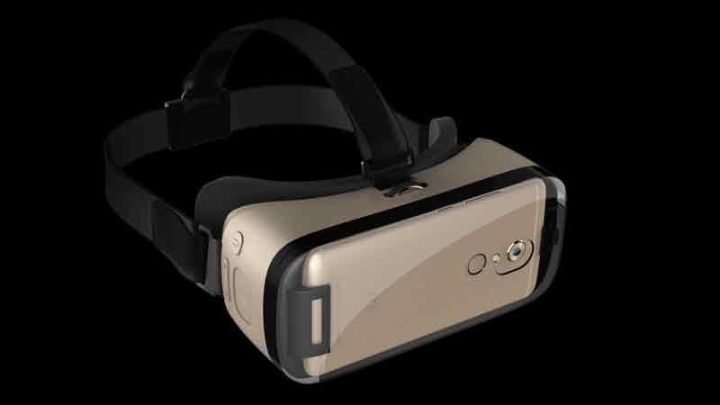 ZTE VR erinnert ein klein wenig an Samsungs Gear VR. BILD: ZTE