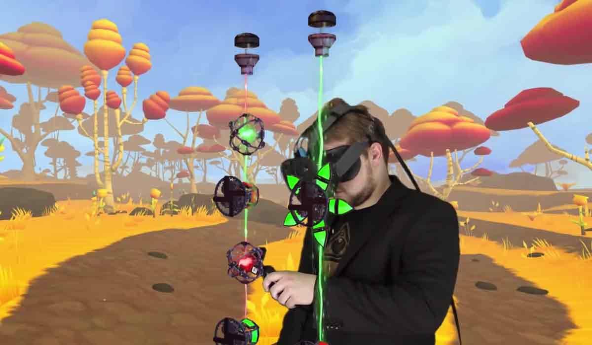 Carpe Lucem ist ein meditatives Puzzlespiel für HTC Vive, das besonders dank des Room-Scale-VR-Features punkten kann.