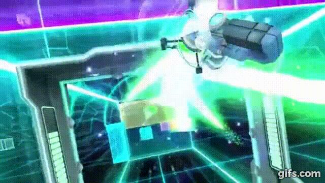 Cyberpong VR bringt ein klassisches Spielprinzip in die virtuelle Realiät. Mit klassischen Videospielen hat das nicht mehr viel zu tun.