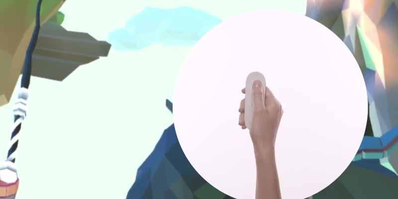 Googles neues Referenzdesign für einen mobilen Virtual-Reality-Controller.