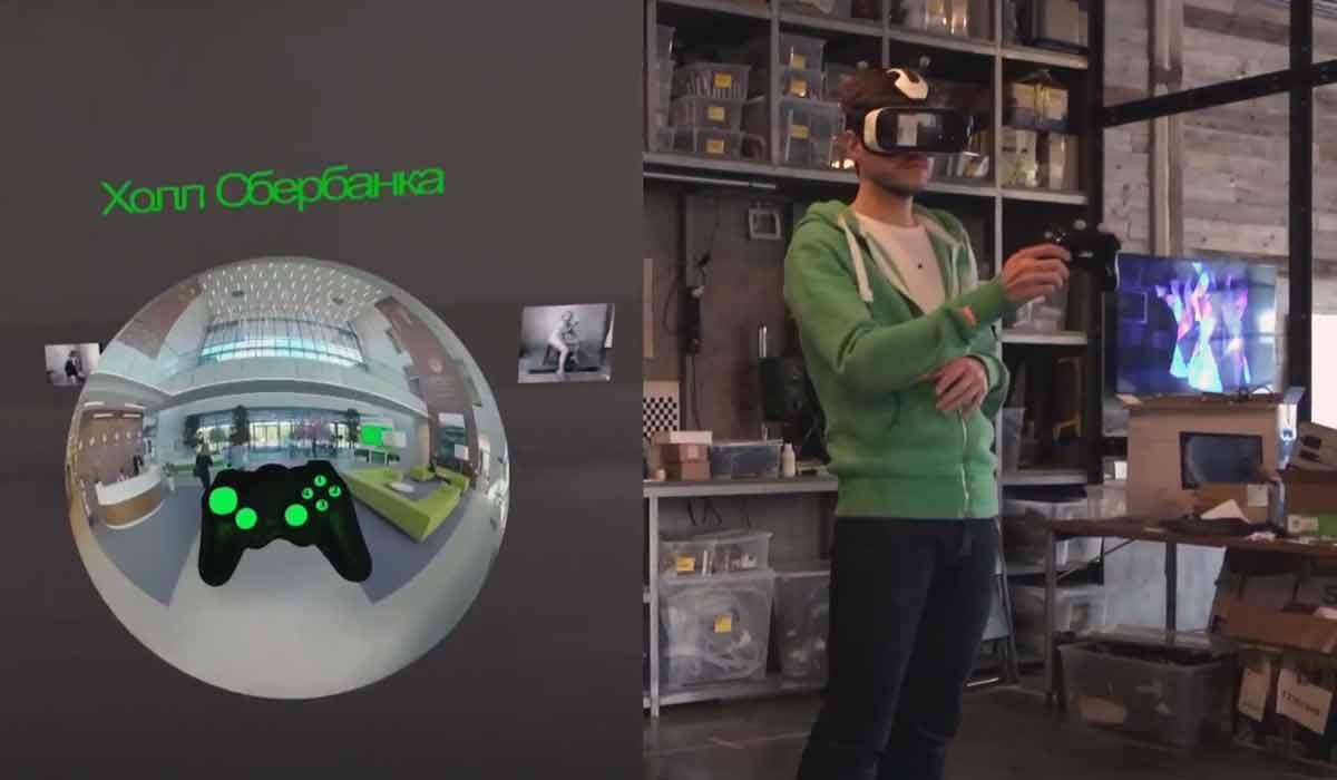 Mobile Virtual-Reality-Brillen + Bewegungserkennung im ganzen Raum = Win. Russische Entwickler zeigen eine Lösung, die aber noch teuer ist.