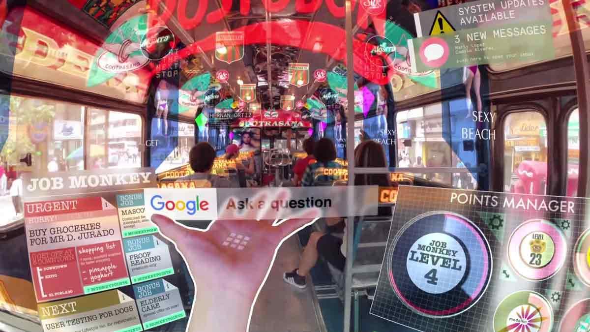 Wie sieht unsere Zukunft aus, wenn virtuelle und bekannte Realität vollständig verschmelzen? Filmemacher Keiichi Matsuda zeigt seine Vision.