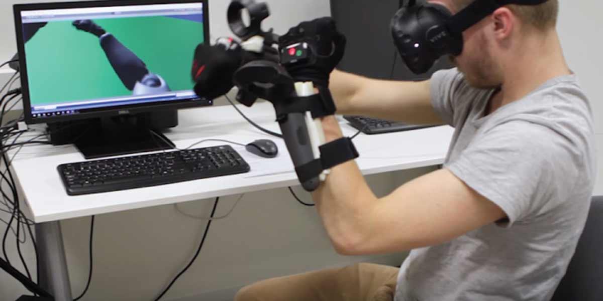 Virtual Reality: Erste Experimente mit Armtracking