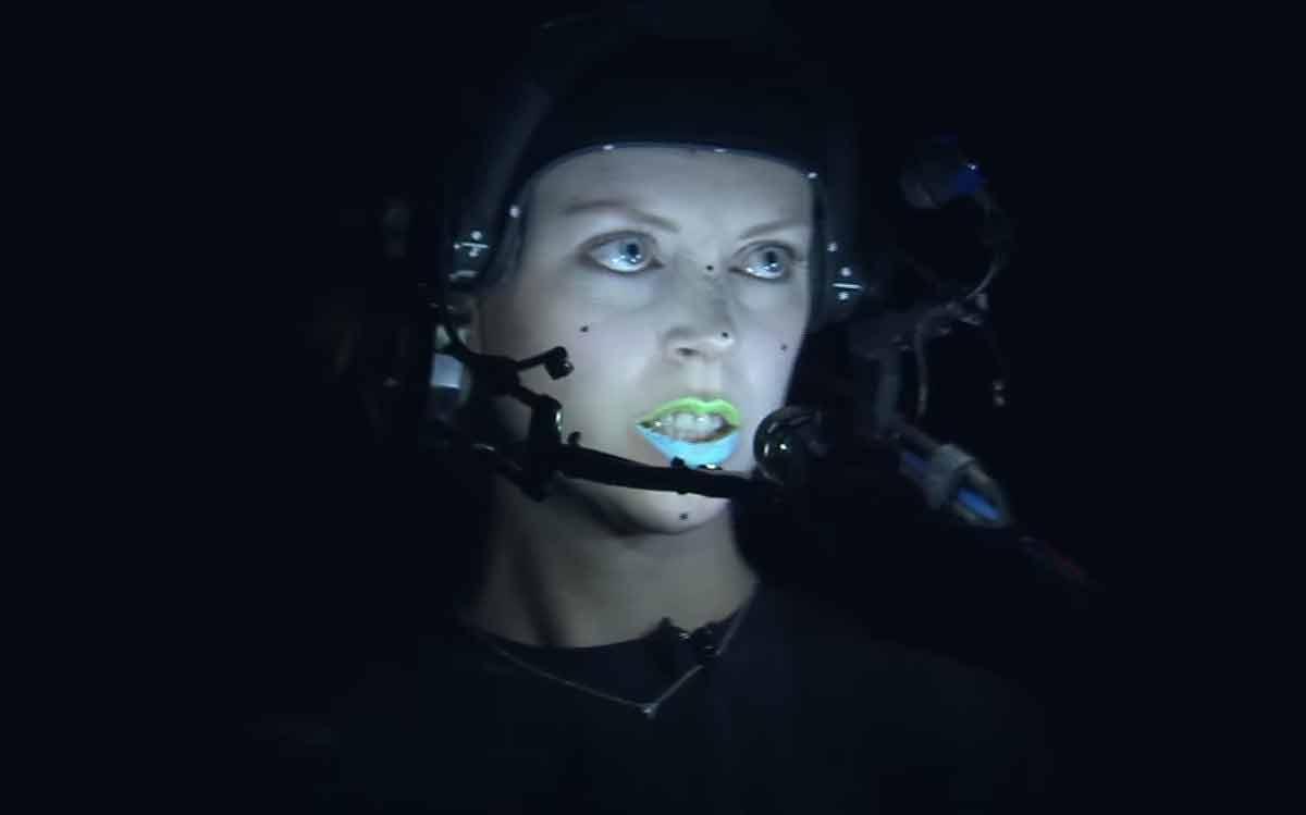 """Das Entwicklerstudio Ninja Theory überträgt reale Darstellungen in Echtzeit auf virtuelle Charaktere und nennt das """"Virtual Human""""."""