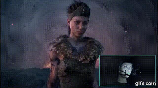 Das Entwicklerstudio Ninja Theory überträgt reale Darstellungen in Echtzeit auf virtuelle Charaktere.