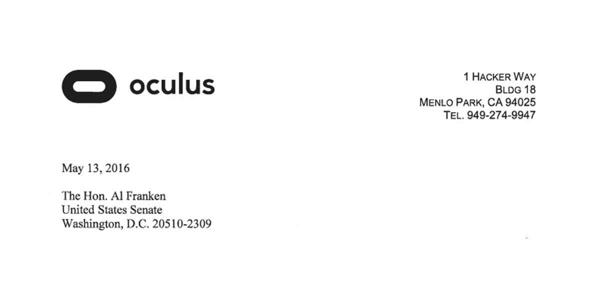 Die Antwort von Oculus VR kommt aus der Rechtsabteilung, verrät nichts Neues, bestätigt aber, dass Facebook Zugriff auf Bewegungsdaten hat.