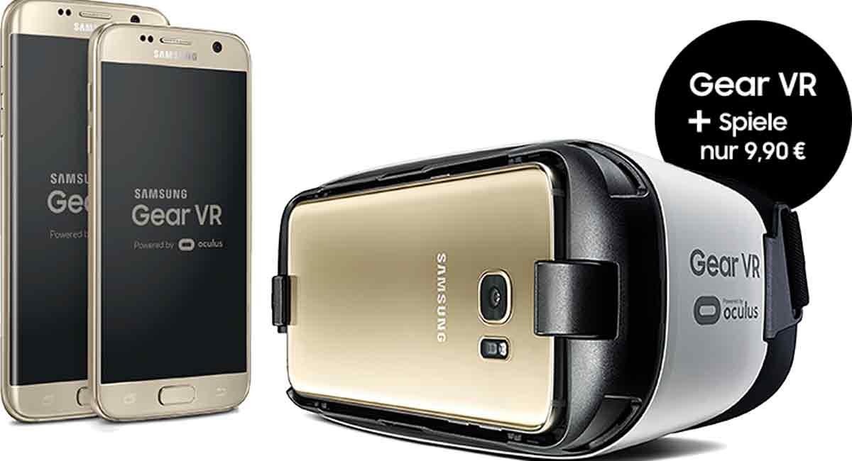 Samsung Gear VR: Neues S7-Bundle, 300.000 verkaufte VR-Brillen