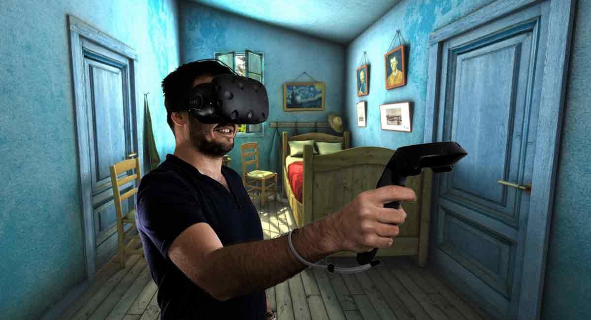 Sketchfab VR für HTC Vive ist eine Art virtuelles, begehbares Museum. Die Plattform für 3D-Inhalte hat großes Potenzial für immersive Medien.